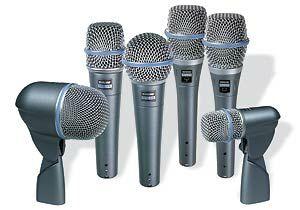 Shure Beta serie Mikrofone