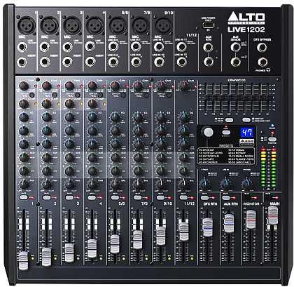 Mischpult Alto Live 1202