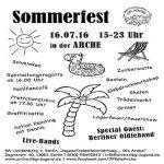 Random image: Plakat_SommerfestArche